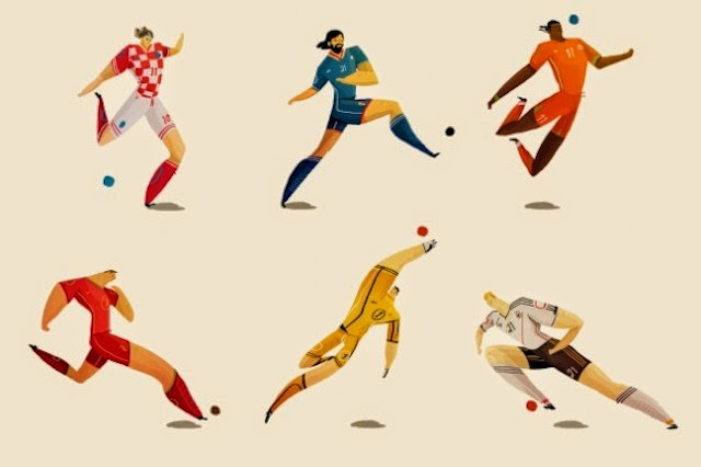 rafael-mayanis-world-cup-players-illustrations